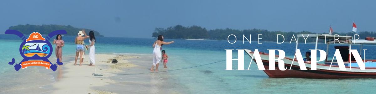 one day trip pulau harapan