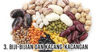 Biji-bijian dan Kacang-kacangan menjadi Makanan ini paling bikin gemuk