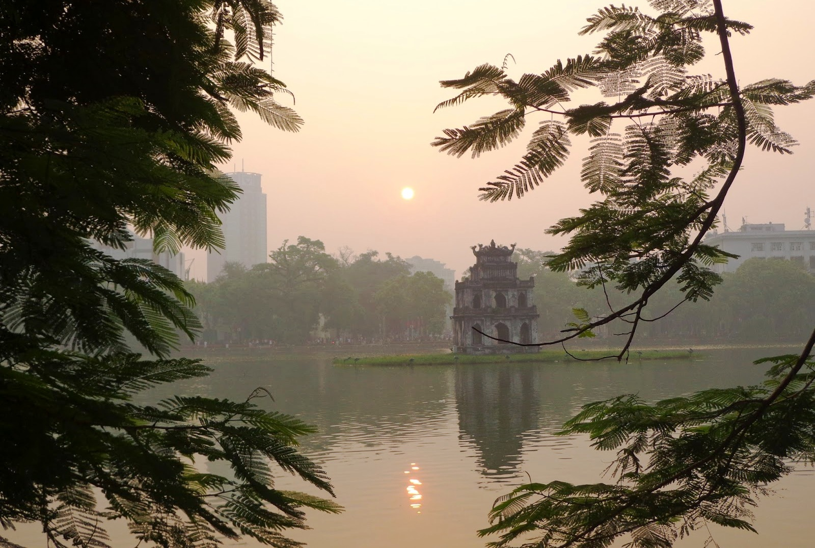 sunrise in Hanoi 2