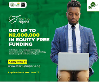 Startup Nigeria Program 2019, How to Apply Startup Nigeria Program 2019, Startup Nigeria Signup
