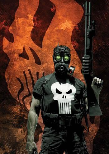 Punisher es un antihéroe mata criminales de Marvel