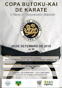 Copa Butoku Kai de Karate - 5ª Etapa do Campeonato Estadual
