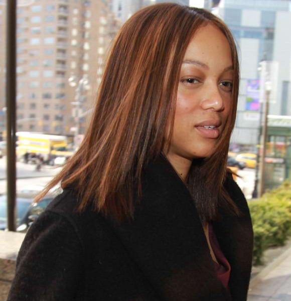 Tyra Banks Without Makeup: Tyra Banks Without Makeup On Show