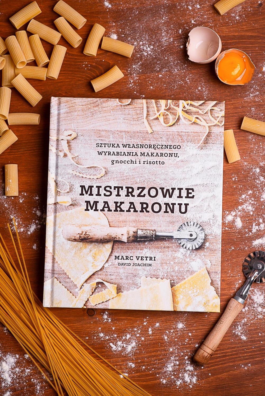 """""""Mistrzowie Makaronu"""" M. Vetri, D.Joachim - recenzja książki"""