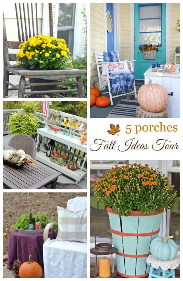 Fall Ideas Tour 2016 Porches
