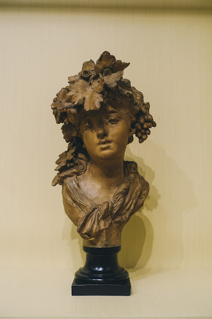 Bacchante(Grapes or Autumn)