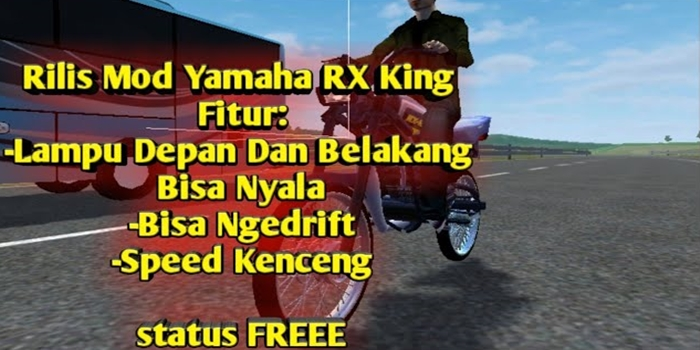 Download MOD Motor Yamaha RX King BUSSID By Haryan