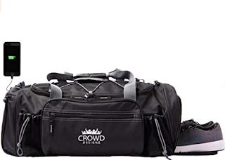 Smart Gym bag, gym bag, workout bag