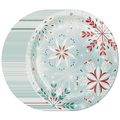 These Snowflake themed paper plate sets are high on my list this year instead of hauling out the fine china.  sc 1 st  Christmas Shopaholic & Christmas Shopaholic: Snowflake Themed Paper Plates for Easy ...