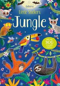 Learning at Home with Usborne - Little Stickers Jungle