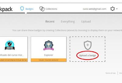 Subir insignia a Mozilla