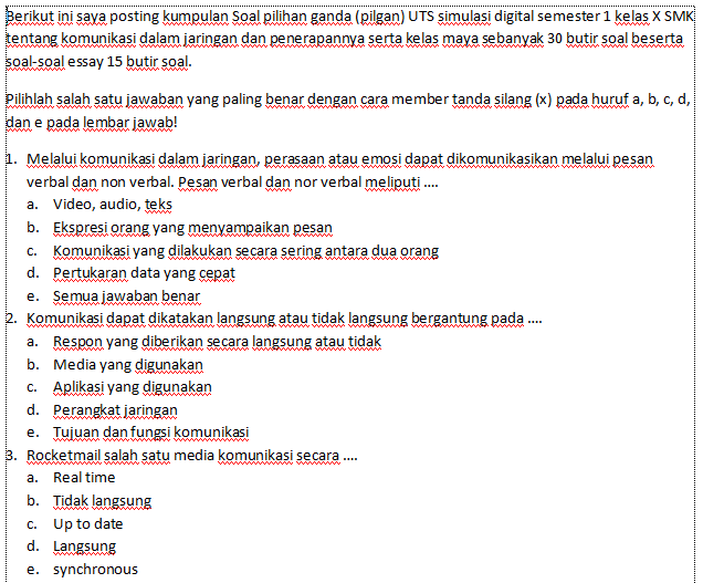 Hot Soal Tentang Syaja Ah Dan Jawabannya