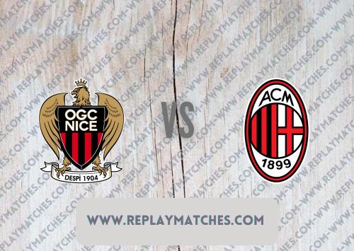 Nice vs AC Milan -Highlights 31 July 2021