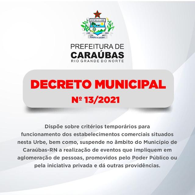 Novo decreto municipal estabelece que bares e restaurantes funcionem até às 22h