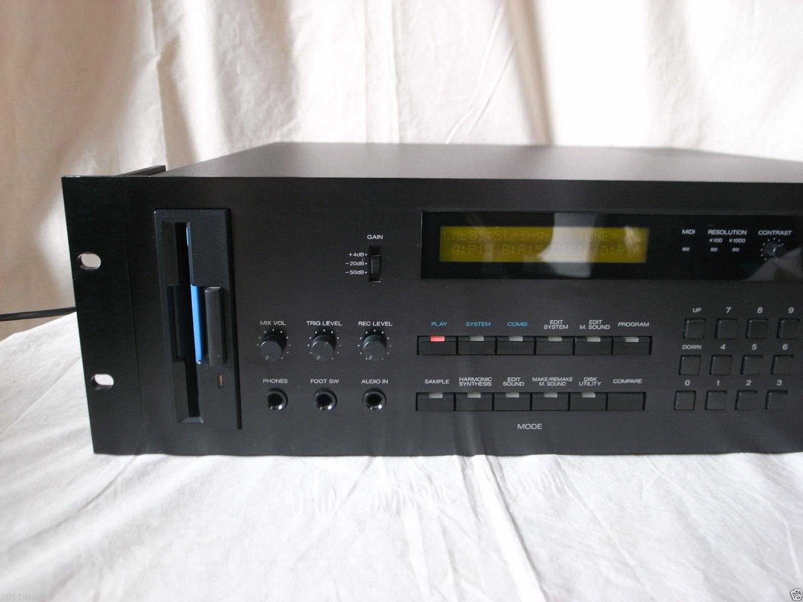 Matrixsynth Korg Dsm 1 Digital Sampling Synthesizer Module Sn 000779