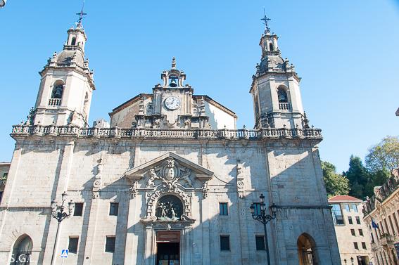 Iglesia de San Nicolas de Bari. Bilbao