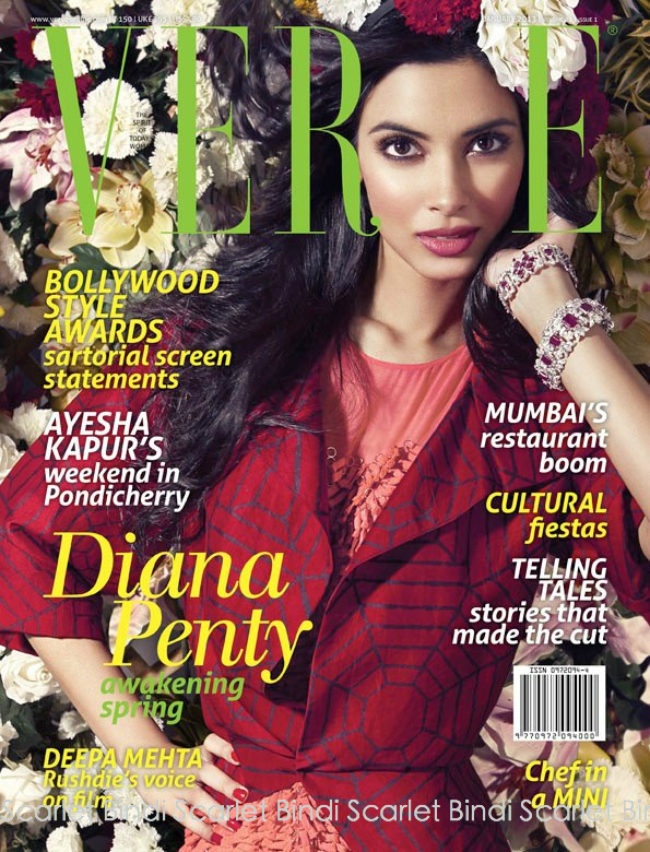 Diana penty verve magazine january 2013 scans.