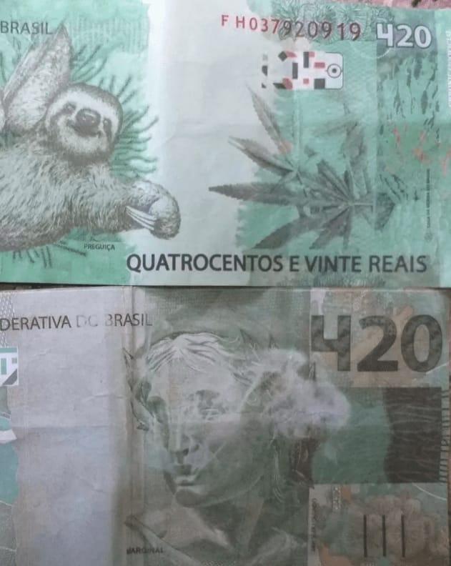 Idoso aceita nota de R$ 420 e ainda dá troco a golpista em Unaí