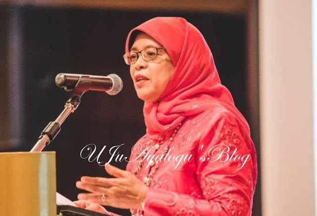Singapore gets female president, Halimah Yacob