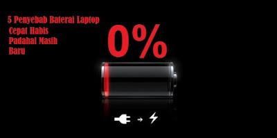 Ini Dia 5 Penyebab Baterai Laptop Cepat Habis Padahal Masih Baru, penyebab baterai laptop soak, penyebab baterai laptop cepat habis, kenapa baterai laptop cepat habis, apa yang menyebabkan baterai laptop cepat habis, cara mengatasi baterai laptop yang boros