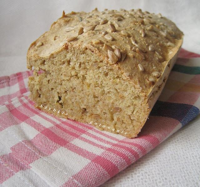 Ekspresowy chleb pszenny na sodzie