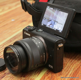 jual Kamera Mirrorles Canon EOS M100 -Banyuwangi