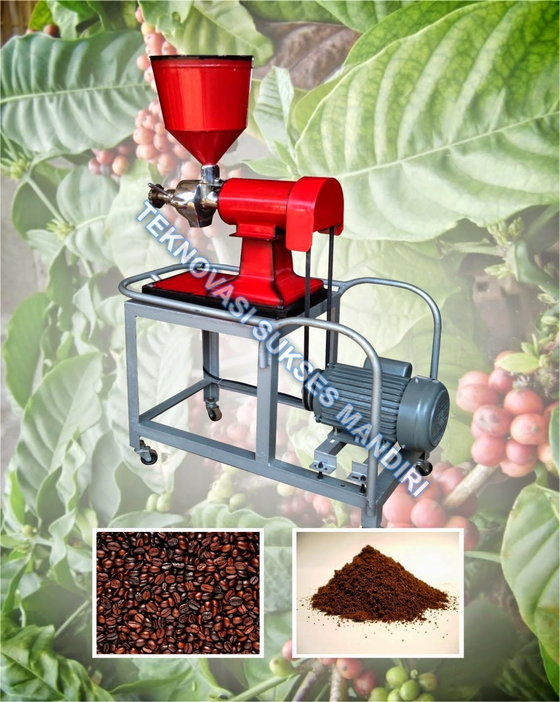 Mesin Penepung biji kopi