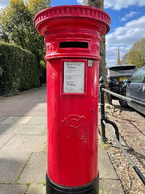 Victorian post box in Cambridge