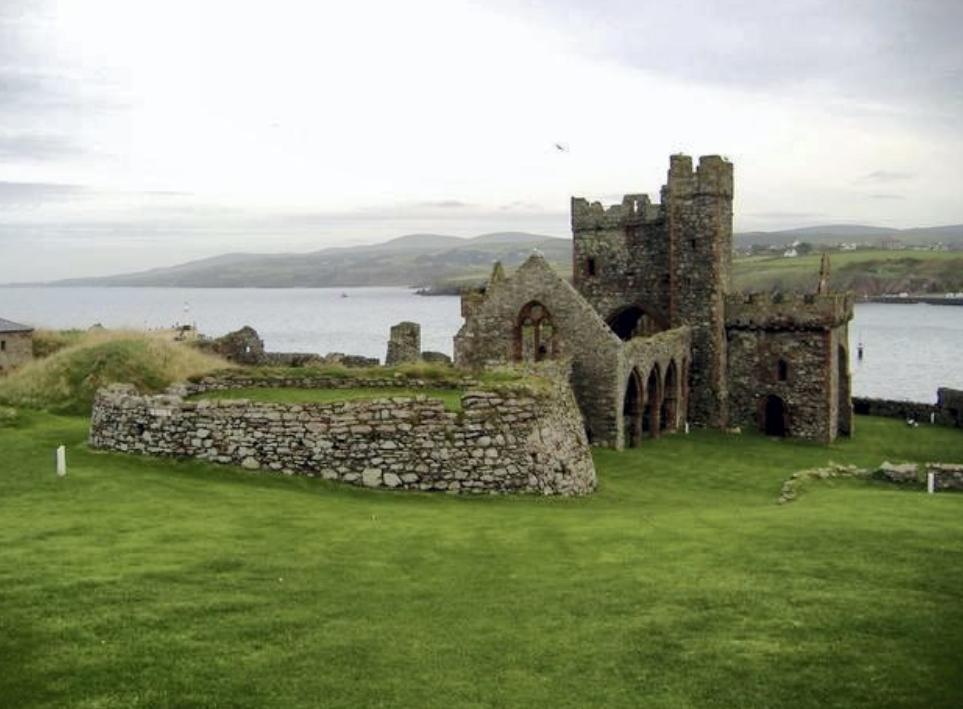 Peel Castle Wedding Venue