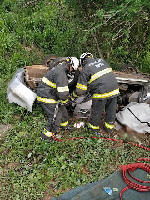 Veja como foi o trabalho de resgate dos corpos do acidente com a familia de Brasilia