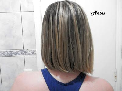 cabelo antes do cronograma capilar com getwells