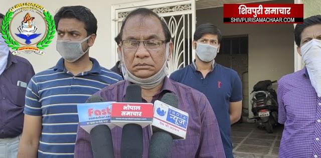 राम गुप्ता ने अपने मोहल्ले को सैनिटाइज किया | Shivpuri News