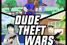 تنزيل Dude Theft Wars 0.87c مهكرة للاندرويد