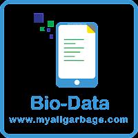 bio-data formats