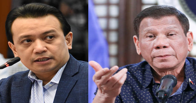 Trillanes VS Duterte