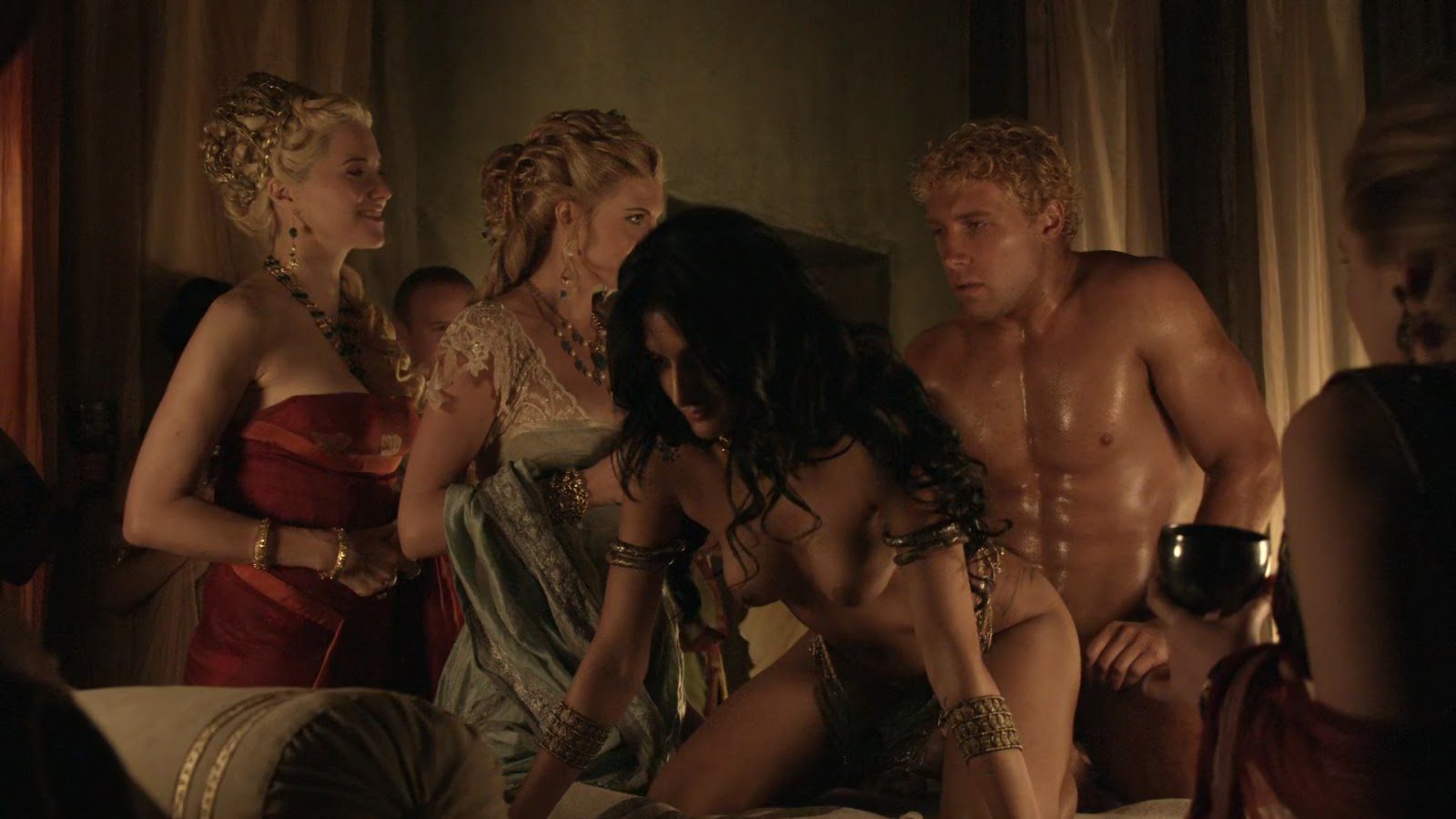 Spartacus Blood And Sand Sex