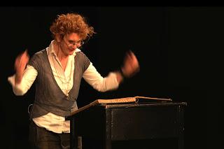 Tanja Baumberger - Bildschirmfoto aus dem DOK-Film Yentl