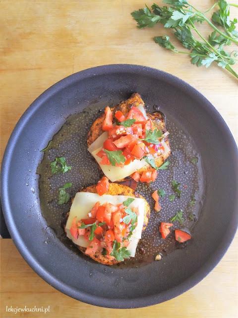 kurczak bruschetta przepis