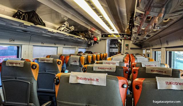 Trem de Bolonha para Roma