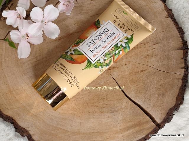 Japoński krem do ciała Bielenda - Słodka rozkosz dla ciała i zmysłów