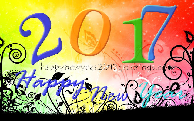 Happy New Year 2017 Colourful HD Wallpapers