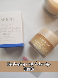 Lip Sleeping Mask de Laneige