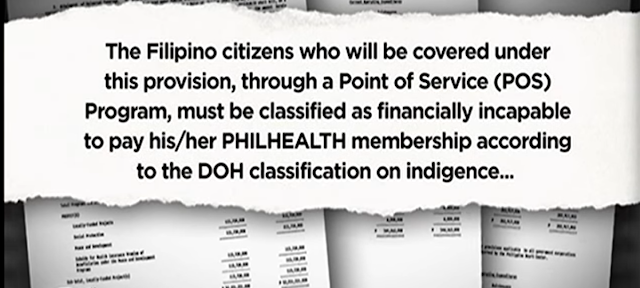 "PUT GRAPHICS HERE For 2017, there is a proposed budget of P3.35-trillion aimed to cover the healthcare and tuition fee of state universities or colleges in Philippines. According to Sen. Loren Legarda, there is also additional P3 billion allocated to Philippine Health Insurance Corp. (PhilHealth) for the coverage of all Filipinos      ""The Department of Health (DOH) said there are some eight million Filipinos still not covered by PhilHealth. It is our duty, in serving the public, to extend basic healthcare protection to all our people. That is why we pushed for the augmentation of the PhilHealth's budget so that in 2017, we achieve universal healthcare coverage,"" Legarda said.  Sen. Legarda said this universal healthcare coverage will help any non-member of PhilHealth to avail healtcare service in public hospitals and be enrolled automatically in the system.   Including on those who will receive the benefits are the Indigent patients. They will no longer be required to pay  for anything in government hospitals under the ""No Balance Billing"" as mandated under the Amended National Health Insurance Act or Republic Act 10606, which Legarda principally authored.   Close Ad X The budget will also allocate P96.336 billion for Department Of Health, this will then be used  for the construction of additional health facilities and drug rehabilitation centers in the country.    The Filipino citizens who will be covered under this provision, through a POINT of Service (POS) Program, must be classified as financially incapable to pay his/her Philhealth membership according to the DOH classification on indigence.   Filipino citizens who are financially capable shall be assessed and shall be enrolled based on their financial capability at the Point of Service to be covered as regular contributing PHILHEALTH member. They shall be included in the Philhealth membership data base and shall be billed annually."