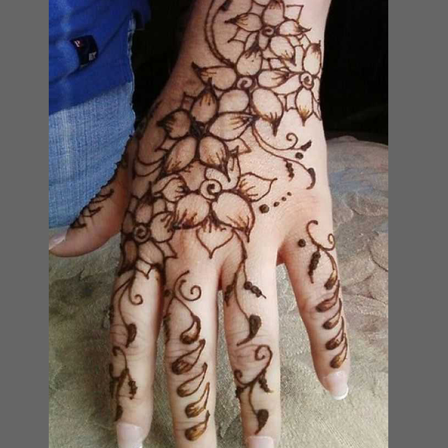 Arabic Bridal Mehndi Designs