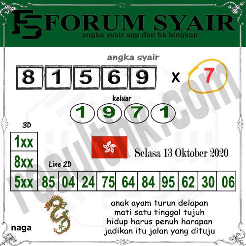 Forum syair hk Selasa 13 Oktober 2020