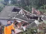 Hujan Lebat Akibatkan Beberapa Desa Alami Bencana Alam