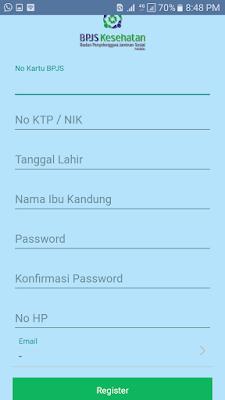 Cek Tagihan BPJS Mobile JKN