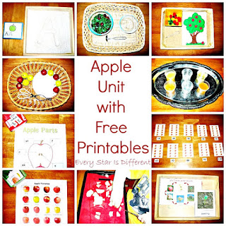 Apple Unit with Free Printables