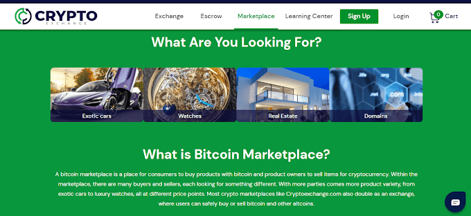 CryptoExchange Review - Buying Products With Crypto