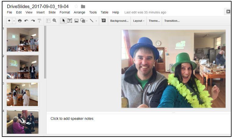 how to add a folder to google photos